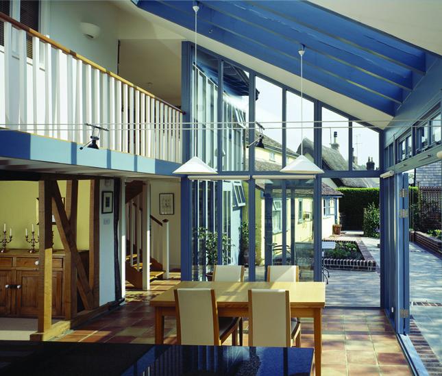 Blue House Bb C Architects