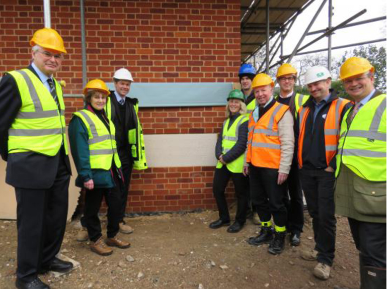 Foundation stone unveiled for new Caius Boathouse | Gonville & C